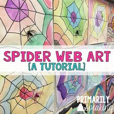 Spider Web Art Tutorial...easy project that makes for an amazing display!