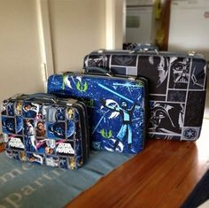 Star Wars Suitcases: Pack Your Bags for a Galaxy Far, Far Away