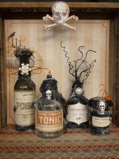35 Beautiful Vintage Halloween Décor Ideas | DigsDigs
