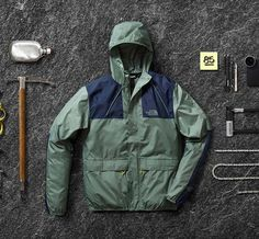 The 1985 Mountain Jacket - a modern refresh on the North Face jacket that changed the game 30 years ago.