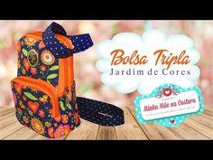Bolsa Tripla Jardim de Cores | Minha Mãe na Costura - YouTube