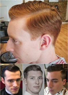 slick side-parted men's hairstyles ivy league haircuts