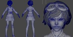 3D Character Creation Techniques