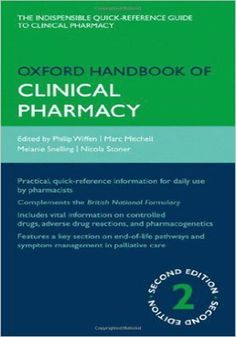 Oxford Handbook of Clinical Pharmacy eBook PDF Book Free Download