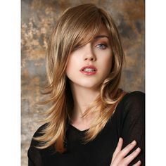 Shop our online store for blonde hair wigs for women.Blonde Wigs Lace Frontal Hair Dirty Blonde Hair Color From Our Wigs Shops,Buy The Wig Now With Big Discount. Medium Hair Cuts, Medium Hair Styles, Natural Hair Styles, Long Hair Styles, Frontal Hairstyles, Wig Hairstyles, Pelo Vintage, Beauté Blonde, Monofilament Wigs