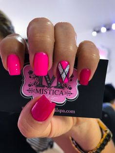 Hot Pink Nails, Sexy Nails, Fancy Nails, Stiletto Nails, Super Cute Nails, Pretty Nails, Nail Polish Designs, Nail Art Designs, Nails 2017