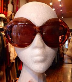 6b9682d4a53 Vintage 1970s SERGE KIRCHHOFER Vienne brown clear by ritualvintage Vintage  Sunglasses