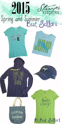 a few of our best selling girls and juniors tees from this season!