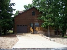 Located Between Branson and Table Rock Lake is This One Owner Log Style Home That is Perfect for a Vacation Home or Full Time Living. This Property Offers 2 Bedrooms and 2.5 Baths. Open Ceilings to the Loft Gives It the Lodge Feel That Everyone is Looking For. Oversized Garage and Additional Storage Upstairs Gives Plenty of Room for All Your Personal Items. You Will Not Be Disappointed in Seeing This Property.