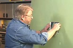 How to Cut an Inspection Hole in a Wall • Ron Hazelton Online • DIY Ideas & Projects. I may use this method to redo a repair of a hole someone made in a wall.