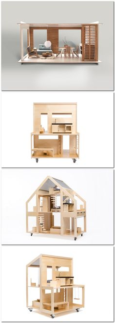 casa de muñecas modern