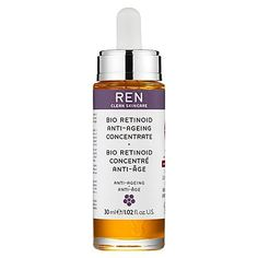 REN Bio Retinoid Anti-Aging Concentrate 1.02 oz by REN. Save 2 Off!. $58.85. A powerful anti-aging concentrate. What it is:A complex of naturally derived ingredients that combat the appearance of wrinkles and imperfections for visibly younger skin.What it is formulated to do:This synergistic complex of pure, potent, 100 percent naturally derived vitamin A, pro-vitamin A, and retinoid analogue combat the appearance of wrinkles, imperfections, and age spots. The complexion app...