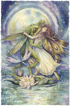 Bergsma Gallery Press :: Paintings :: Fantasy :: Faeries :: There Is Always A Reason To Dance - Prints