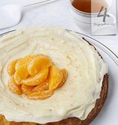 Mandarin & Almond Cake | 4 Ingredients