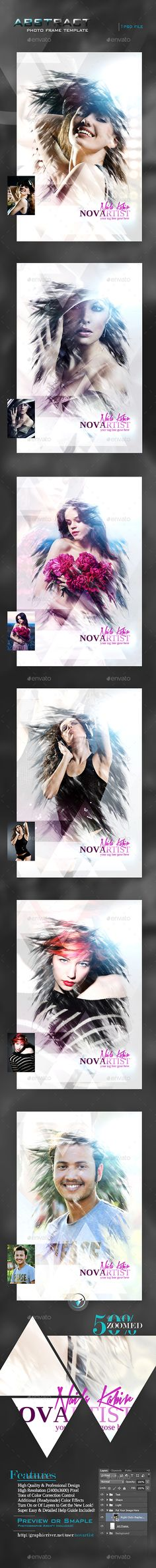 Abstract Photo Frame Template by novartist Abstract Photo Frame Template Specification: 1 PSD Files! Frame Template, Cover Template, Templates, Photoshop Photography, Artistic Photography, Art Photography, Photoshop Effects, Photoshop Tips, Instagram Banner