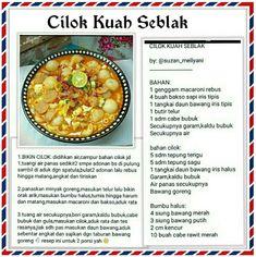 Indonesian Food, Food And Drink, Baking, Eat, Recipes, Foods, Teepees, Bread Making, Food Food