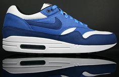 "sports shoes 7074f 97d9f Nike Air Max 1 ""Deep RoyalVarsity Royal-White"" 308866-403"