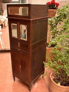 Antiguo mueble para gramófono o gramola en Madrid - vibbo  - 102151135