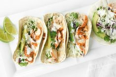 When lime and cilantro come together with fish, a mouthful of exquisite flavour is born. Try these easy fish tacos with lime crema and see for yourself!