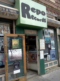 Record store in Philly. I USED TO FREAKING LIVE HERE! LOVE TO MEL!