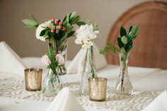 30: assorted bud vases  90: Murcery votives