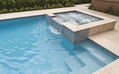 Check out this stunning Pool & Spa design featured on our blog using Sareen Stone's Classic Tumbled Travertine