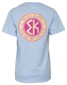 Adam Block Design Sigma Kappa pocket tee - my chapters new recruitment shirt! love seeing this on pinterest with so many repins :)