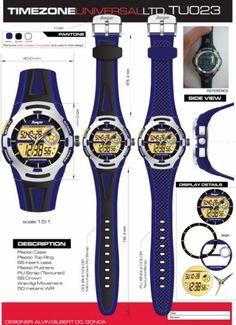 Time Zone Universal  LTD. Watches  designed by: Alvin Gilbert Dc. Gonda  abugonda@yahoo.com Design Development, Behance, Graphic Design, Concept, Watches, Wristwatches, Clocks, Visual Communication