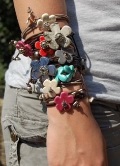 Cute bracelets by Chiclefreak....
