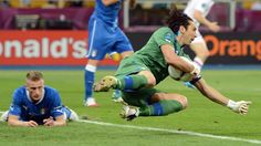 UEFA Euro 2012, 24.6. Italy:England. Gianluigi Buffon - the italien keeper is still one of the best!