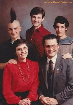 """They asked him not to wear a short sleeve."" AwkwardFamilyPhotos.com"