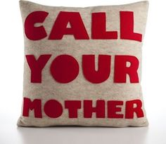 Lol! If only I had seen this b4 mom's empty nest.. I've got to get this for my mom when my bro graduates!