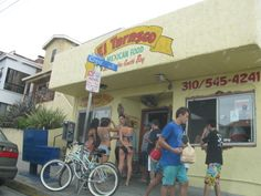 El Tarasco, Manhattan Beach, CA - the BEST burritos!