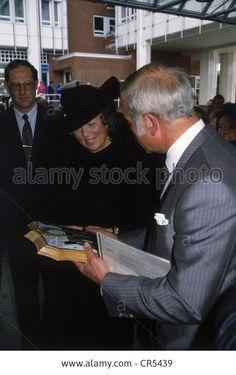 Beatrix, * 31.1.1938, Queen Of The Netherlands Since 30.4.1980, State Stock Photo, Picture And Royalty Free Image. Pic. 48670813