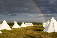 The fresh smell of Yellowstone Under Canvas Glamping Site after a storm.  www.mtundercanvas.com
