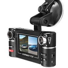 """Vahulawa 2.7"""" F30 HD Dual Camera Lens Car Vehicle DVR Cam Dash Video Recorder 8 IR Lights SOS With Night Vision. For product info go to:  https://www.caraccessoriesonlinemarket.com/vahulawa-2-7-f30-hd-dual-camera-lens-car-vehicle-dvr-cam-dash-video-recorder-8-ir-lights-sos-with-night-vision/"""
