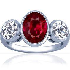 Platinum Oval Cut Ruby Three Stone Ring GemsNY, http://www.amazon.com/dp/B00553LSC6/ref=cm_sw_r_pi_dp_ad67pb1WS1AF3