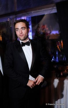 Rob at the Cosmopolis After Party in Cannes.