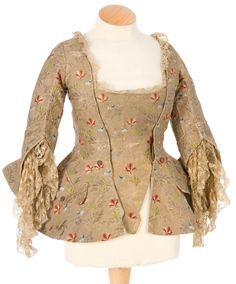 Fripperies and Fobs - Jacket, mid 18th century