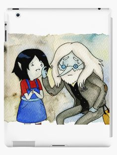 Adventure Time Marceline and Ice King
