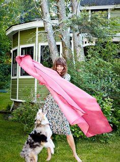 Helena Christensen at her Catskills, New York home  Tataice.com