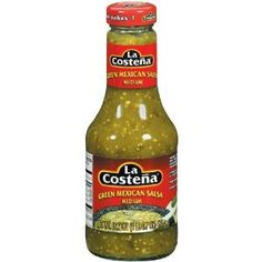 La Costena  Green Mexican Salsa/ Salsa Verde 16.7 oz ~ one of the BEST sauces I have ever had, perfect flavors; this will make any Mexican dish complete!