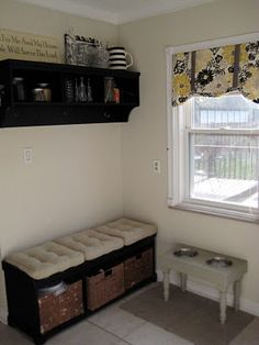 mud room/back entry. I can see my back room looking like this!