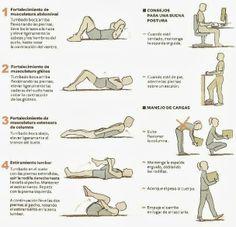 Evita els problemes d'esquena amb aquests consells i exercicis. Només cal una miqueta de temps i ganes, notaràs millora!!!
