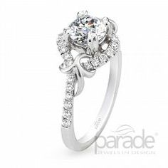 Riddle's Jewelry Ladies Parade™ White Gold Diamond Semi-Mount (16420140)