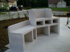 Construire un barbecue en b ton cellulaire barbecue for Construire son barbecue exterieur