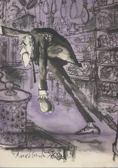 Here are the 5 things I love most about the work of the great Ronald Searle - ). He is absolutely fearless with ink: the bite and. St Trinians, Ronald Searle, Sistine Chapel, Illustration Art, Illustrations, Character Design, History, Drawings, Masters