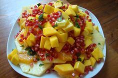 Salata de fructe cu rodie