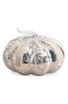 K & K Interiors Mercury Glass Pumpkin available at #Nordstrom