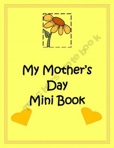 My Mother's Day Mini Book